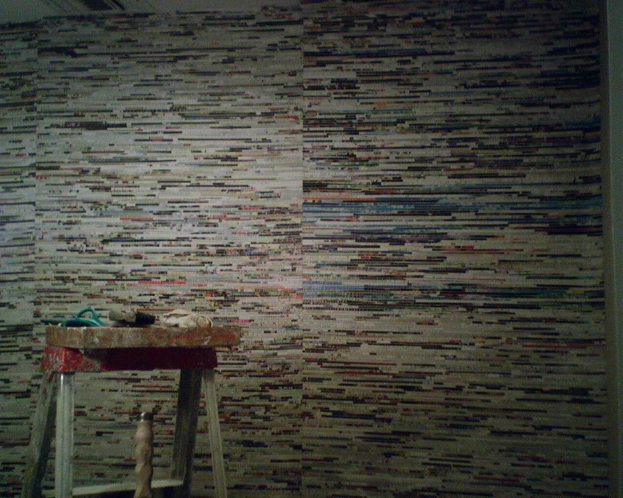 Yesterday's News – A Cool Wallcovering Design ...