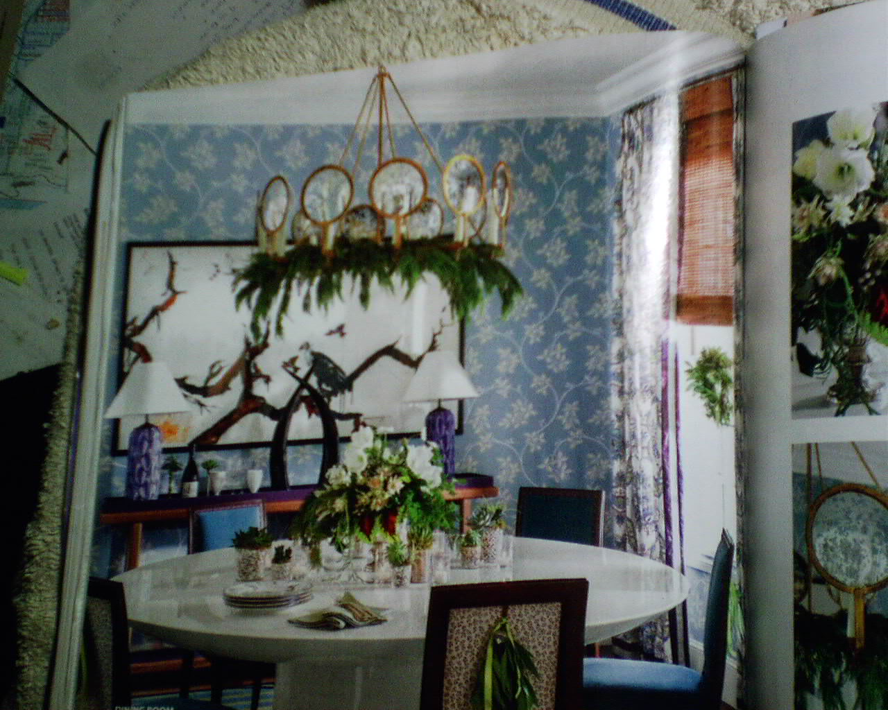 Wallpaper in southern living magazine decorating Southern living change of address