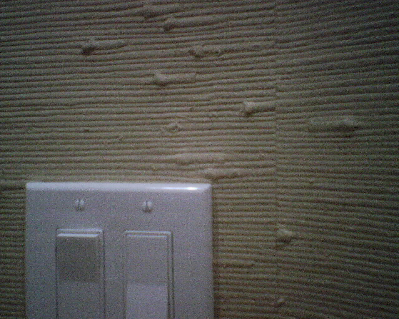 Painting over grasscloth wallpaper - Silver Cork Wallpaper In A Galleria Area Water Closet