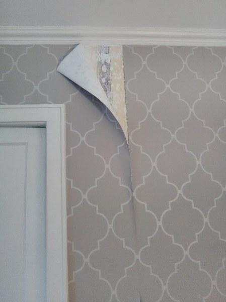 Wallpaper - Paper Peeling, Heights House