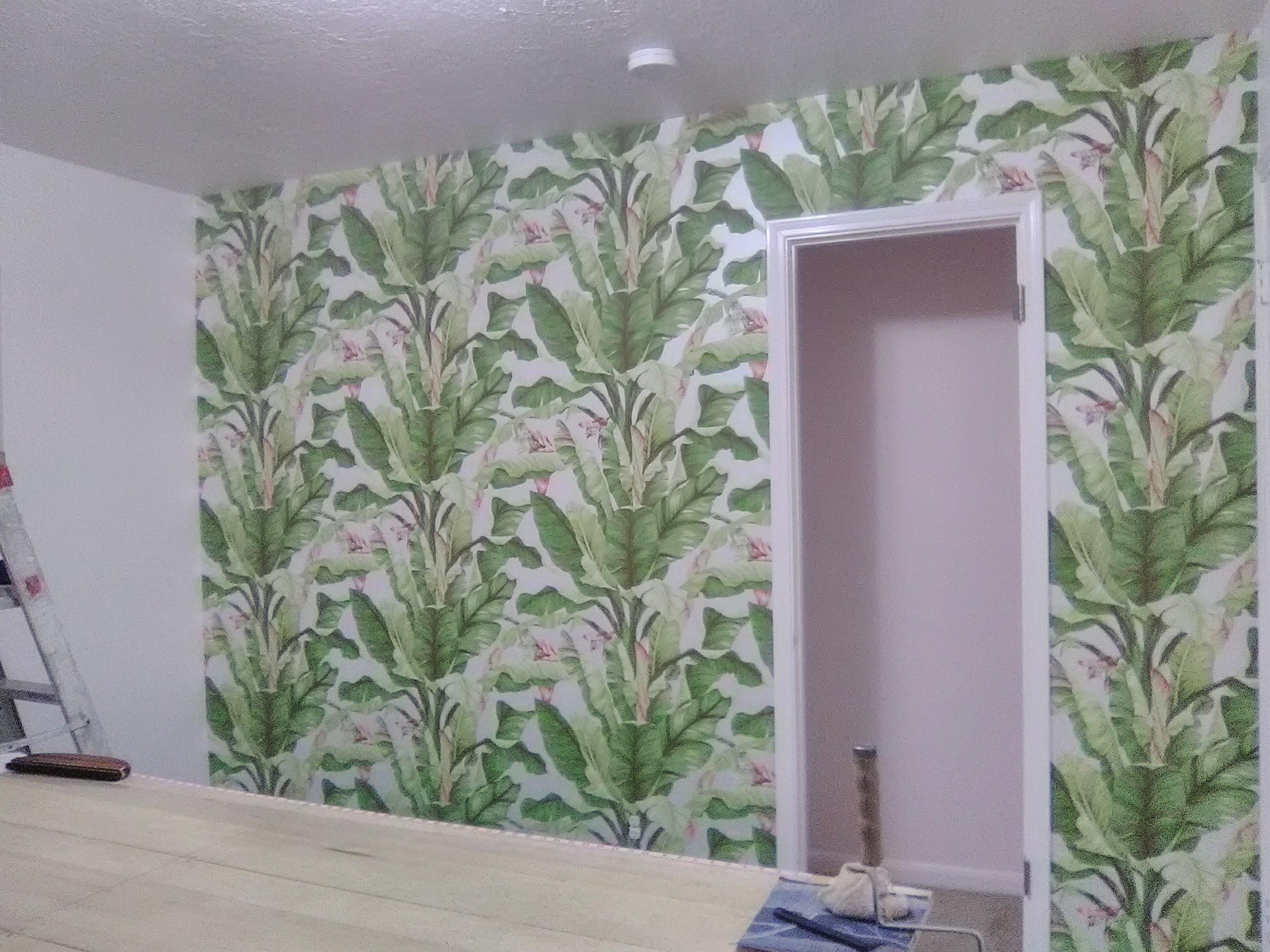 martinique banana leaf wallpaper price