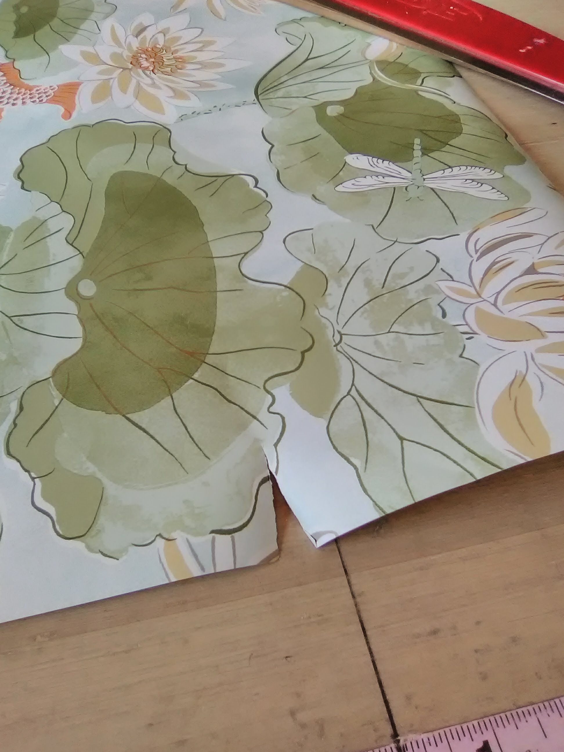 Flaw of the Day – Torn Wallpaper