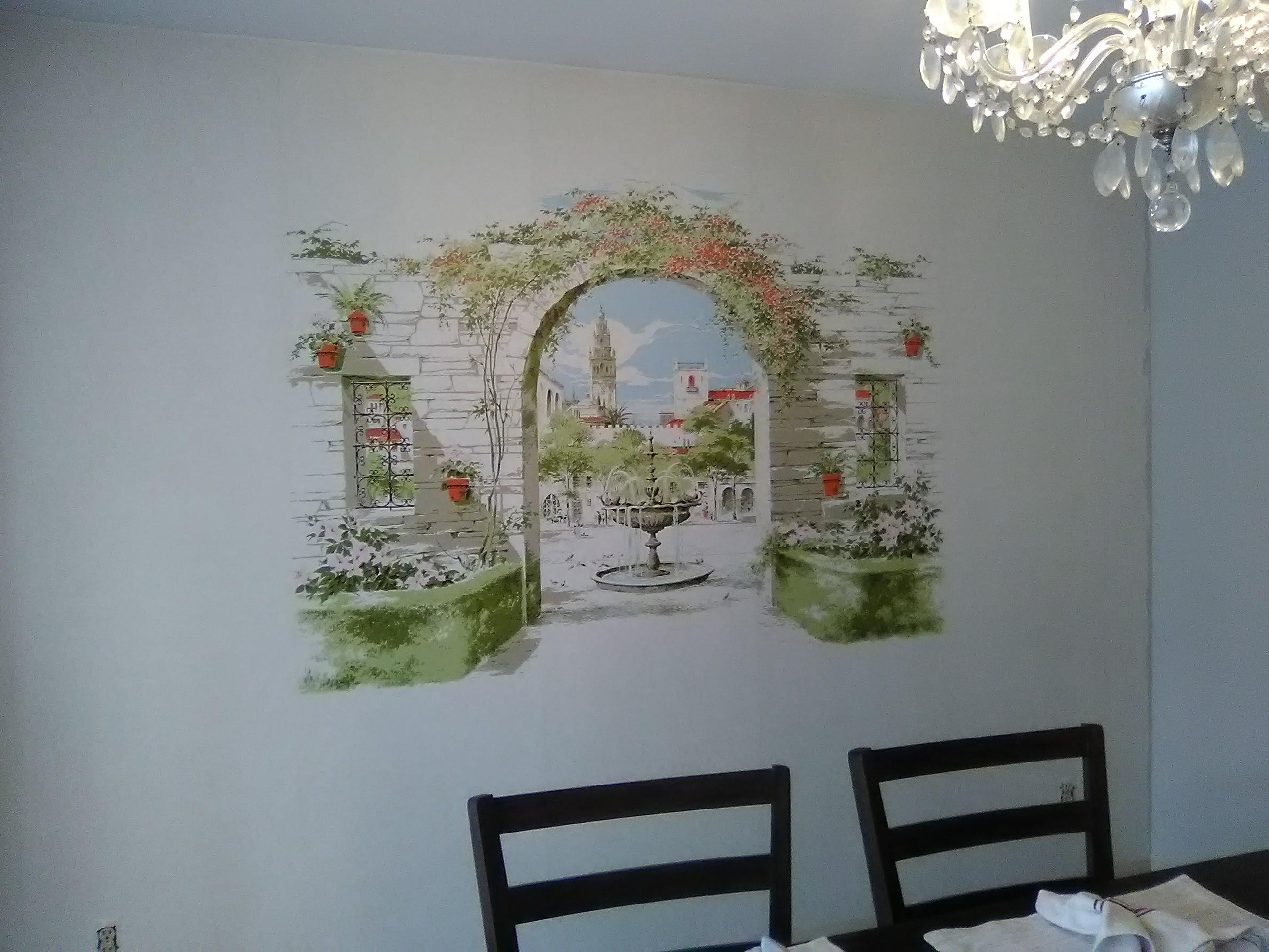 august 2018 wallpaperlady\u0027s blogwallpaper mural 60s fountain distant jpg